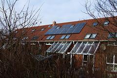 Hamburg-Allerm?he, eco-houses with photovoltai...