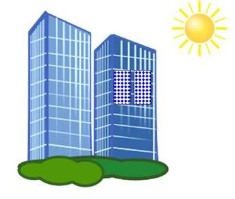 facade mounting of solar panels