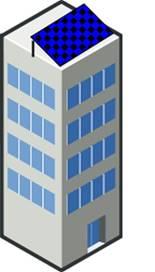 flat roof solar panel mounting