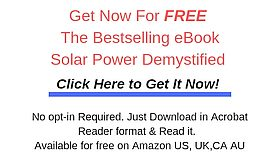 GET FREE EBOOK Solar Power Demystifiedfor blog